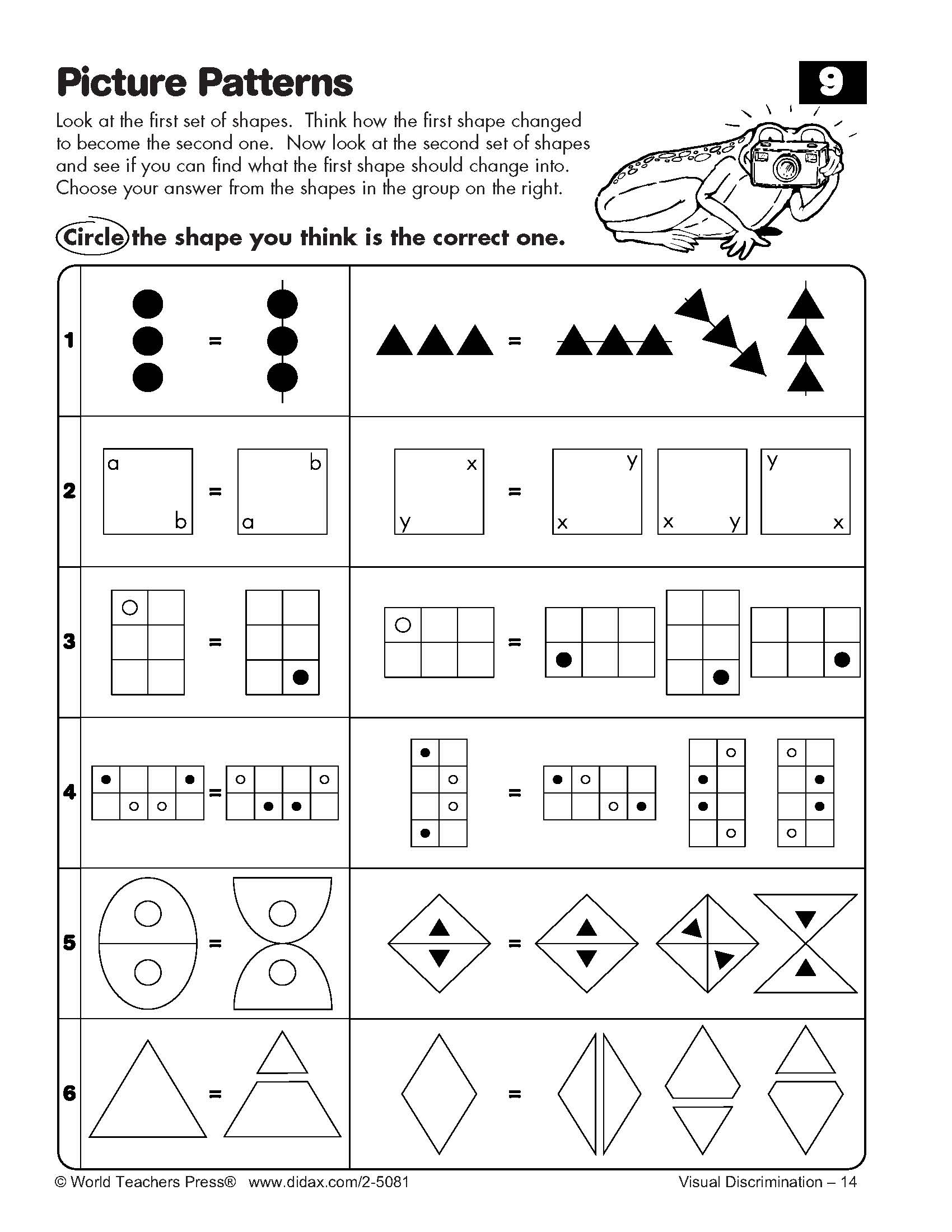 15 Best Images Of Visual Discrimination Worksheets For 4th