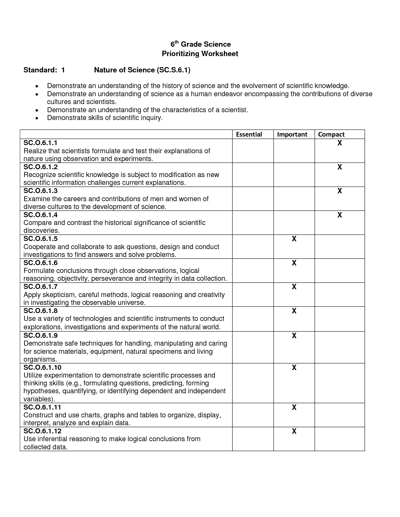hight resolution of 6 Science Worksheet   Printable Worksheets and Activities for Teachers