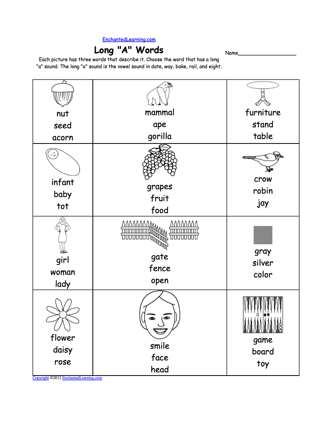 13 Best Images Of Long And Short U Worksheet