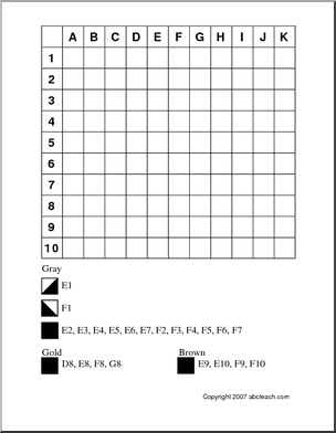 11 Best Images of Christmas Coordinate Worksheets