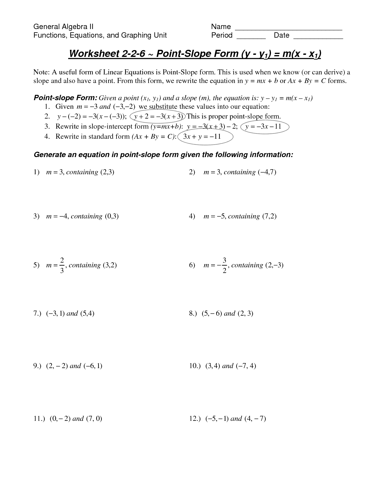 6 Best Images Of Graphing Functions Worksheet
