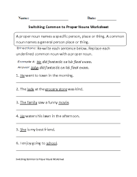 17 Best Images of Parts Of Speech Worksheets High School ...