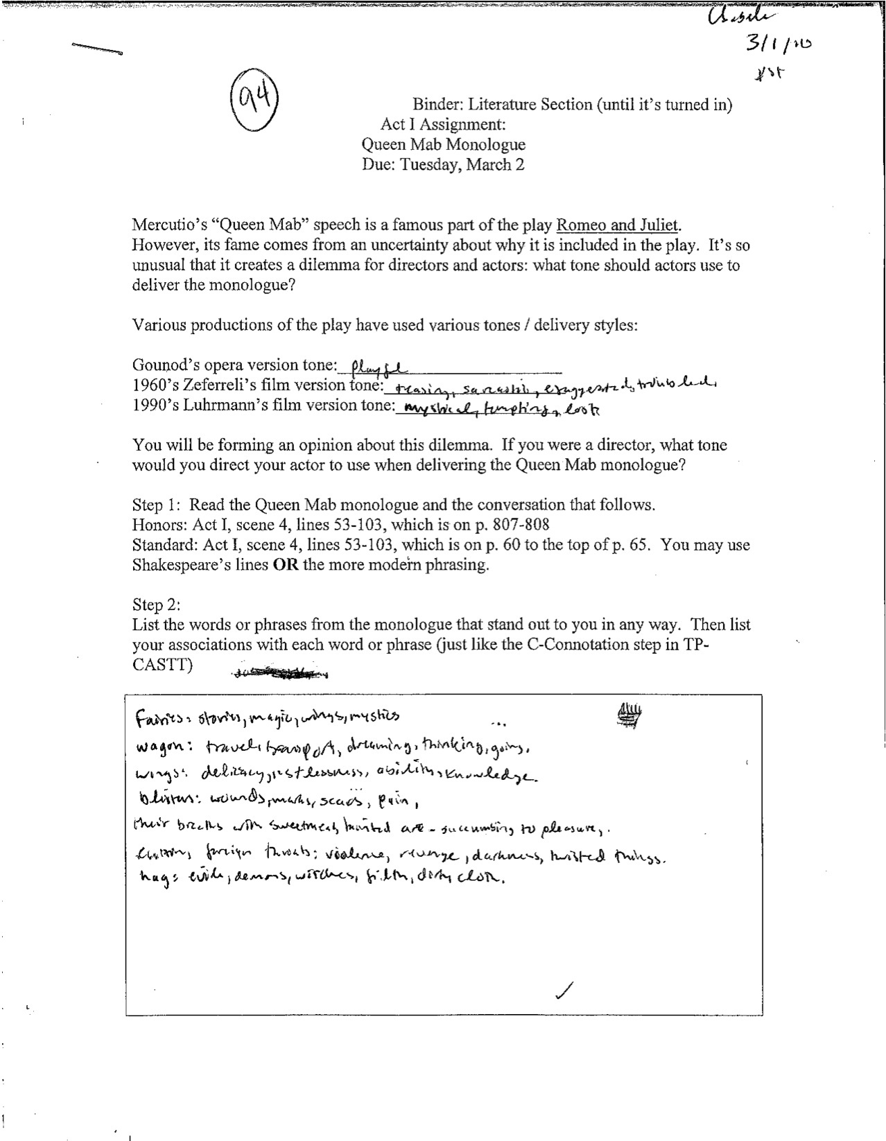17 Best Images Of Parts Of Speech Worksheets High School