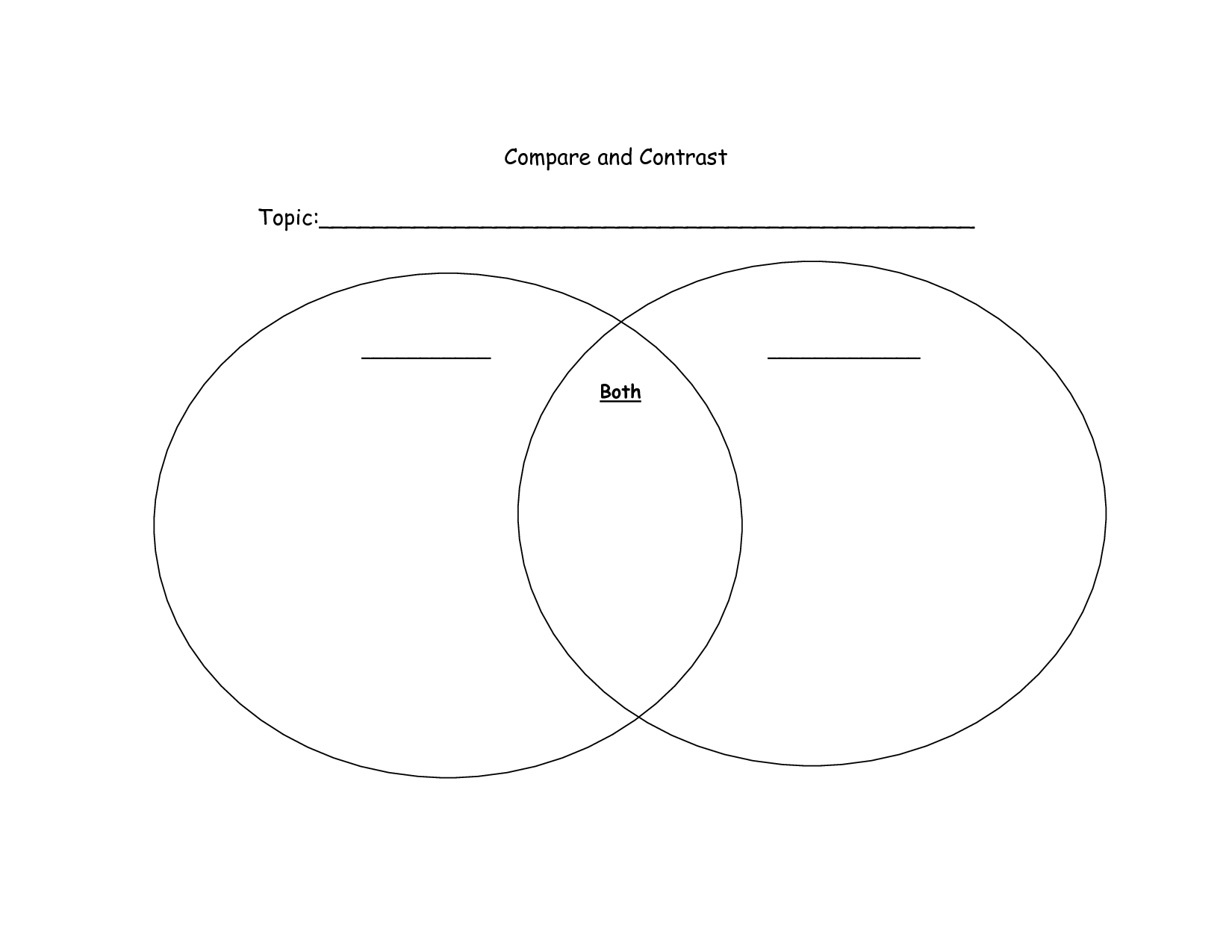 10 Best Images Of Venn Diagram Worksheet 1st Grade