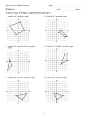 8 Best Images of Graph Transformations Worksheet