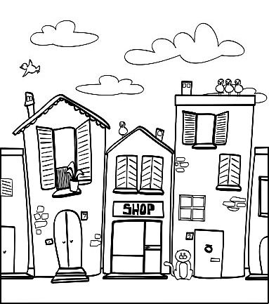 18 Best Images of Worksheets About Neighborhoods