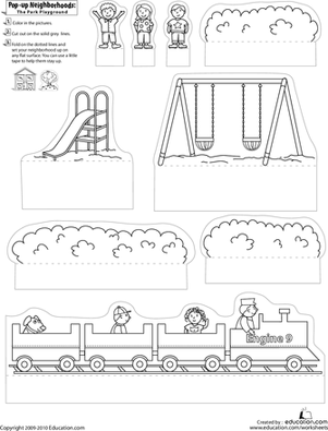 11 Best Images of Up And Down Kindergarten Worksheets