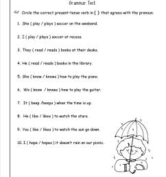 Noun Verb Agreement Worksheet   Printable Worksheets and Activities for  Teachers [ 1650 x 1275 Pixel ]