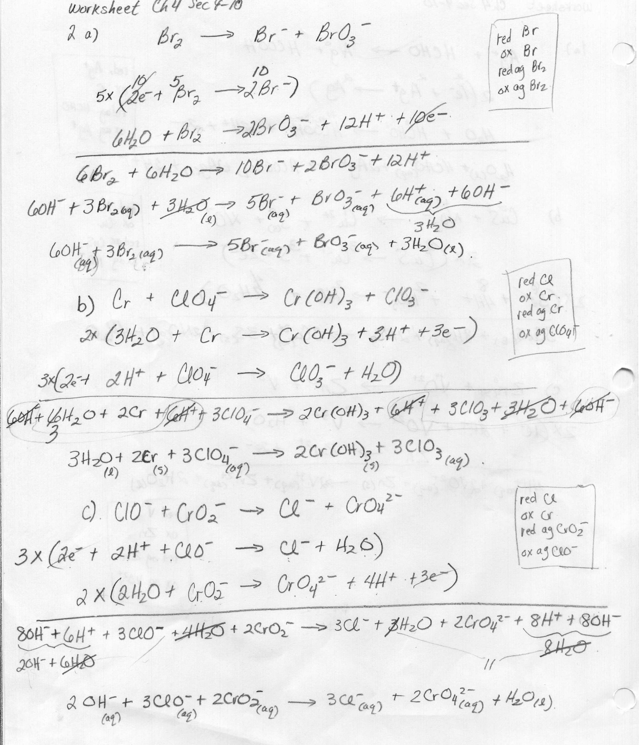 18 Best Images Of Energy And Entropy Worksheet Free