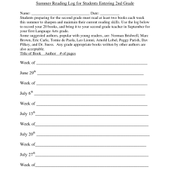 Second Grade End Of The Year Worksheet   Printable Worksheets and  Activities for Teachers [ 1650 x 1275 Pixel ]
