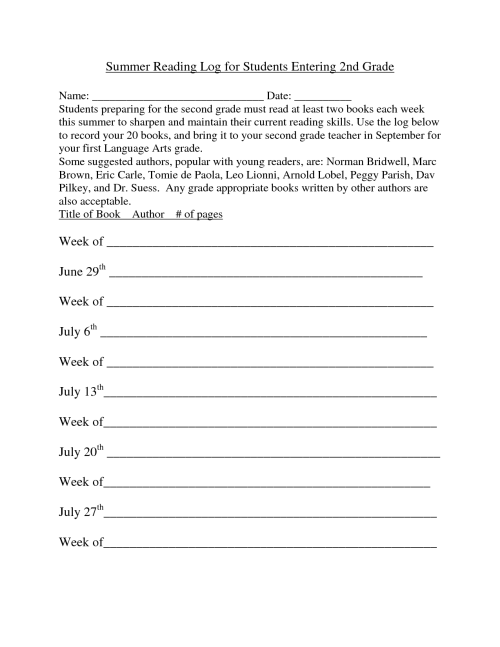 small resolution of Second Grade End Of The Year Worksheet   Printable Worksheets and  Activities for Teachers