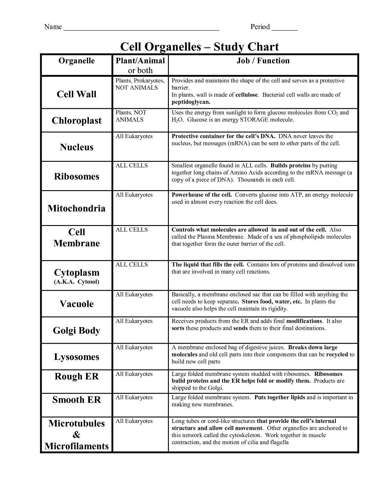 14 Best Images Of Parts Of Plant Functions Worksheet