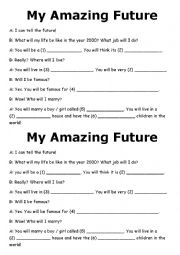 17 Best Images Of Will Future Worksheet