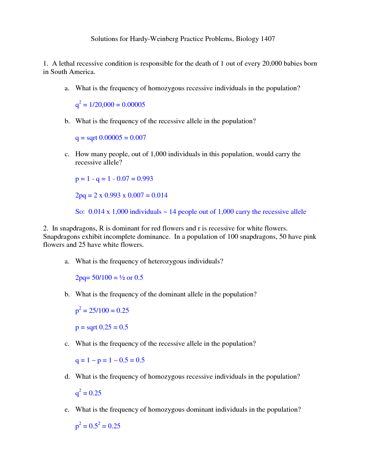 6 Best Images Of Equilibrium Worksheet With Answers