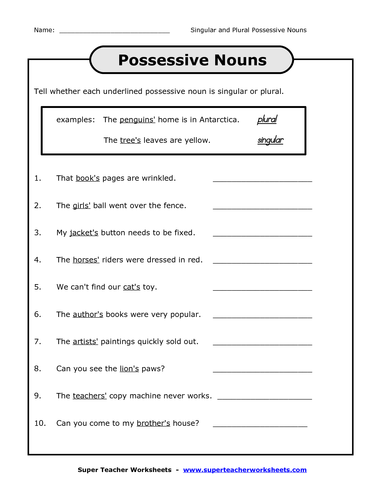 hight resolution of Fifth Grade Pronoun Worksheets   Printable Worksheets and Activities for  Teachers