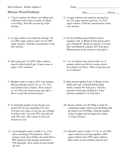 small resolution of Solutes And Solvents Worksheet   Printable Worksheets and Activities for  Teachers
