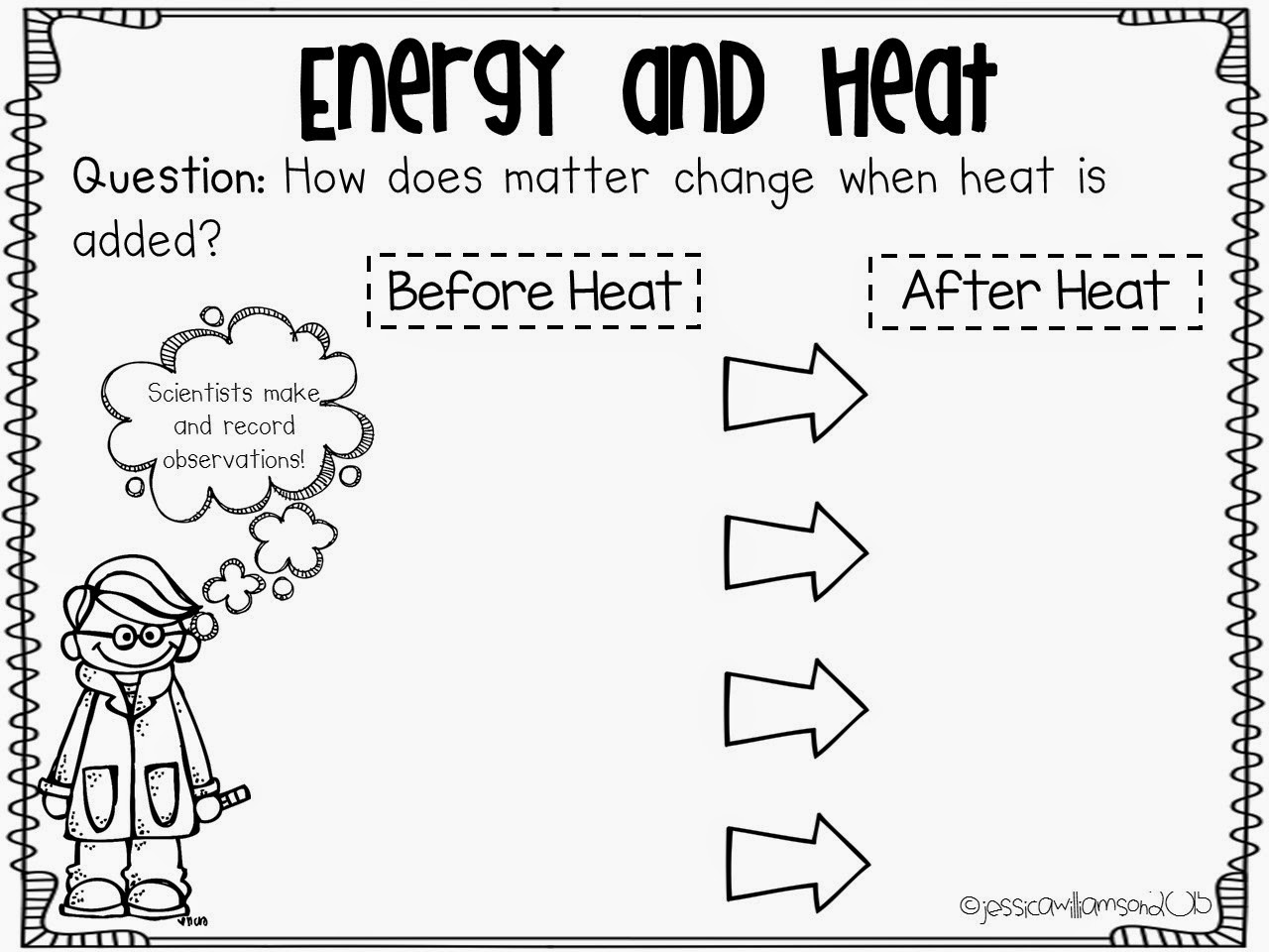 6th Grade Energy Worksheet