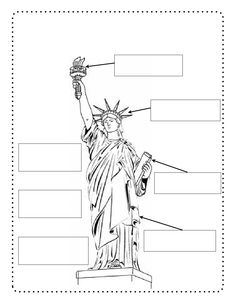 19 Best Images of Statue Of Liberty Worksheet For