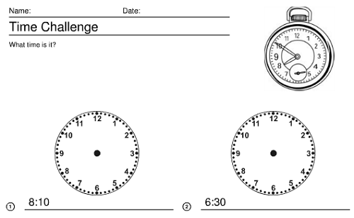 18 Best Images of Telling Time Worksheets For 5th Graders