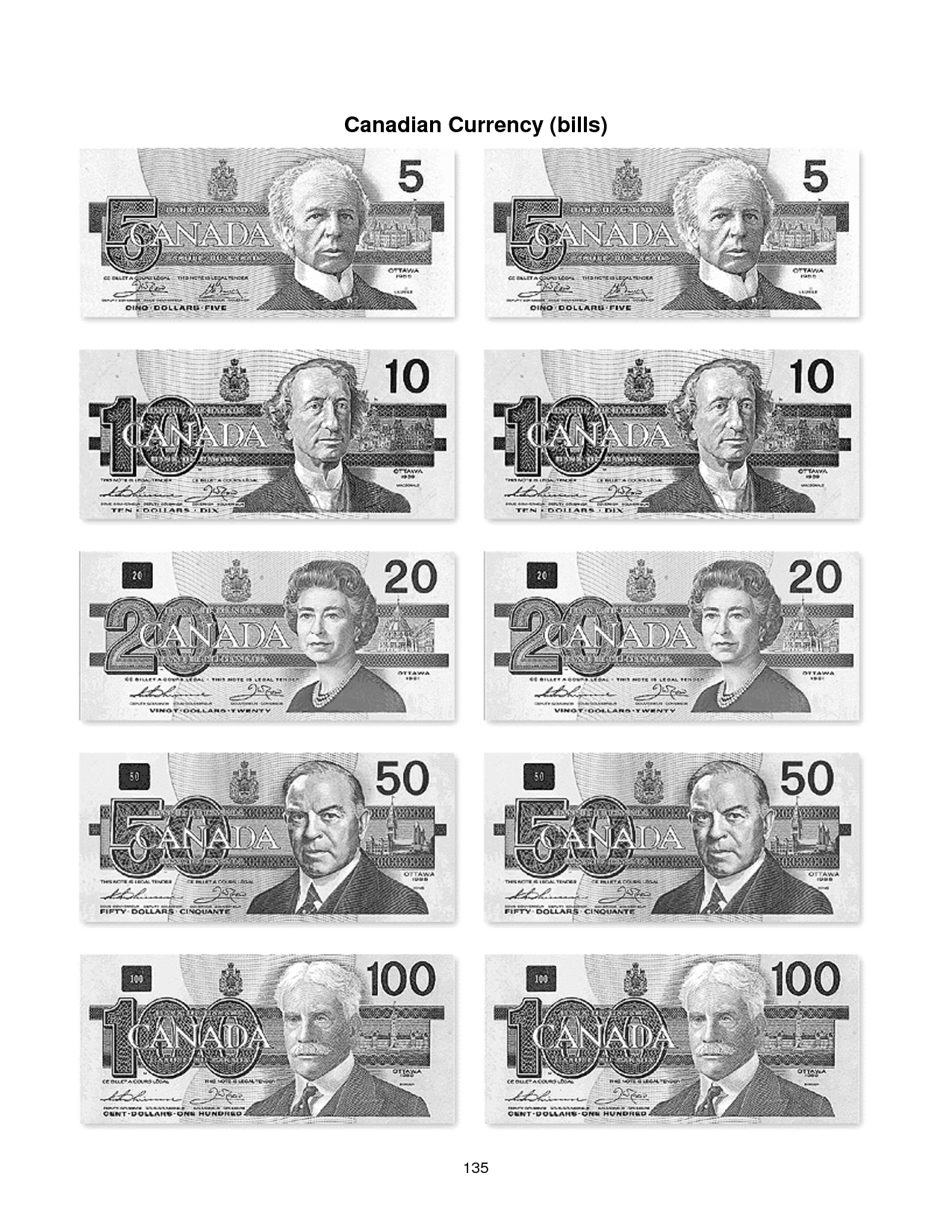 7 Best Images Of Canadian Money Worksheets
