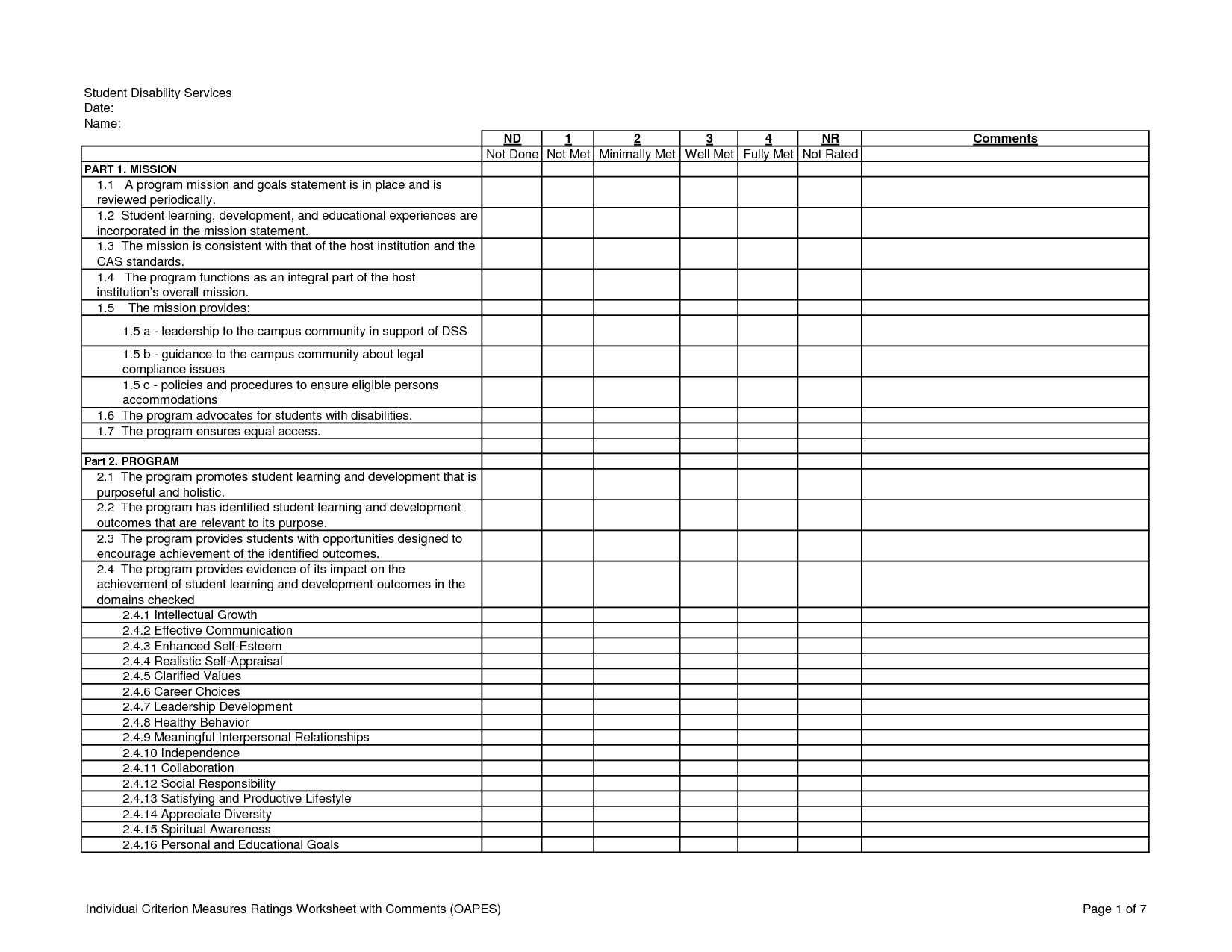 15 Best Images Of Self Soothing Worksheets