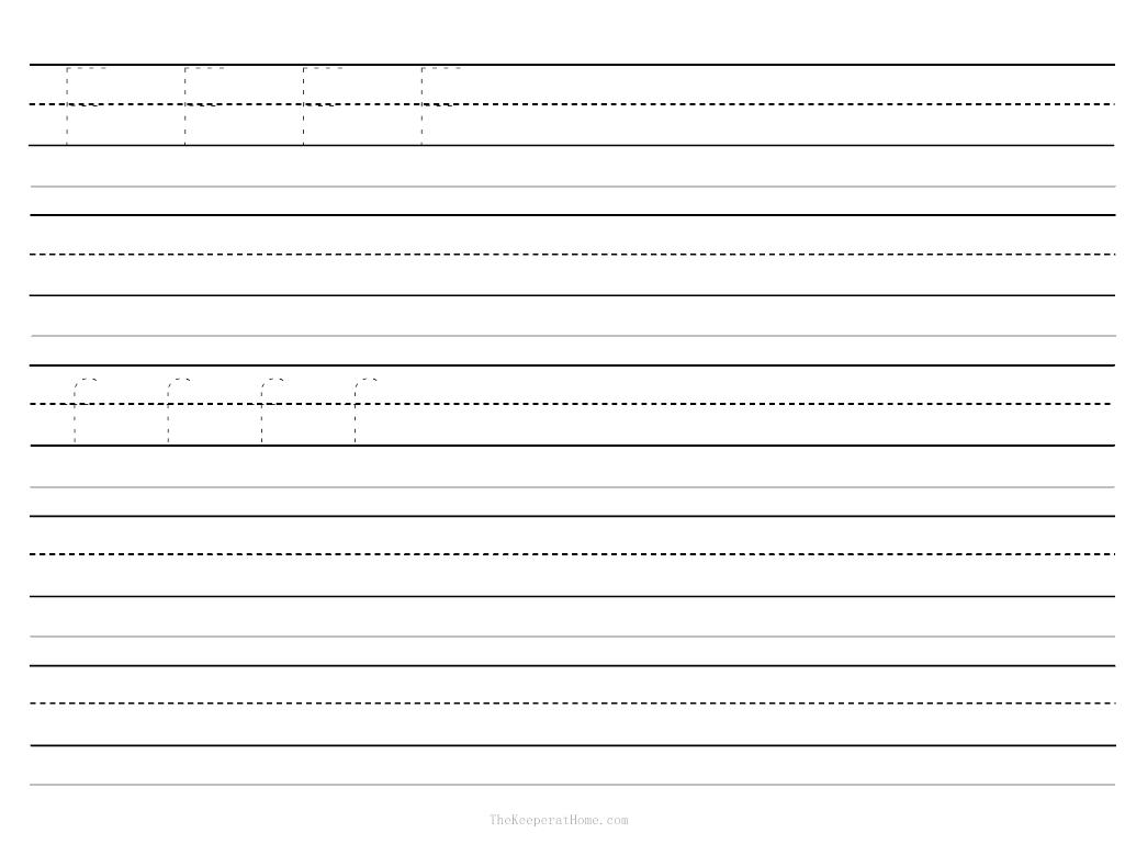 13 Best Images Of Writing Papers Kindergarten Worksheets
