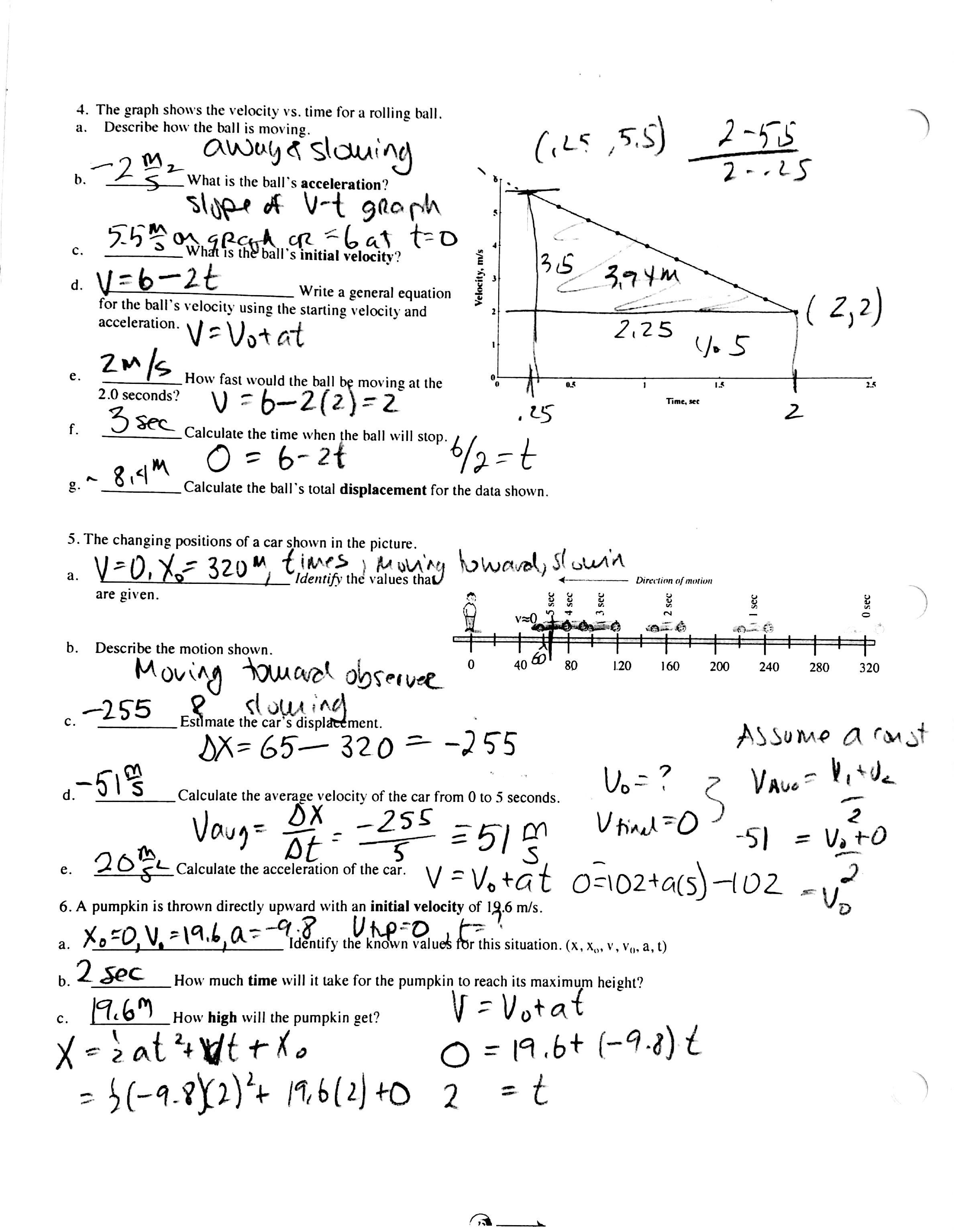 Physics Conservation Of Energy Worksheet Answers