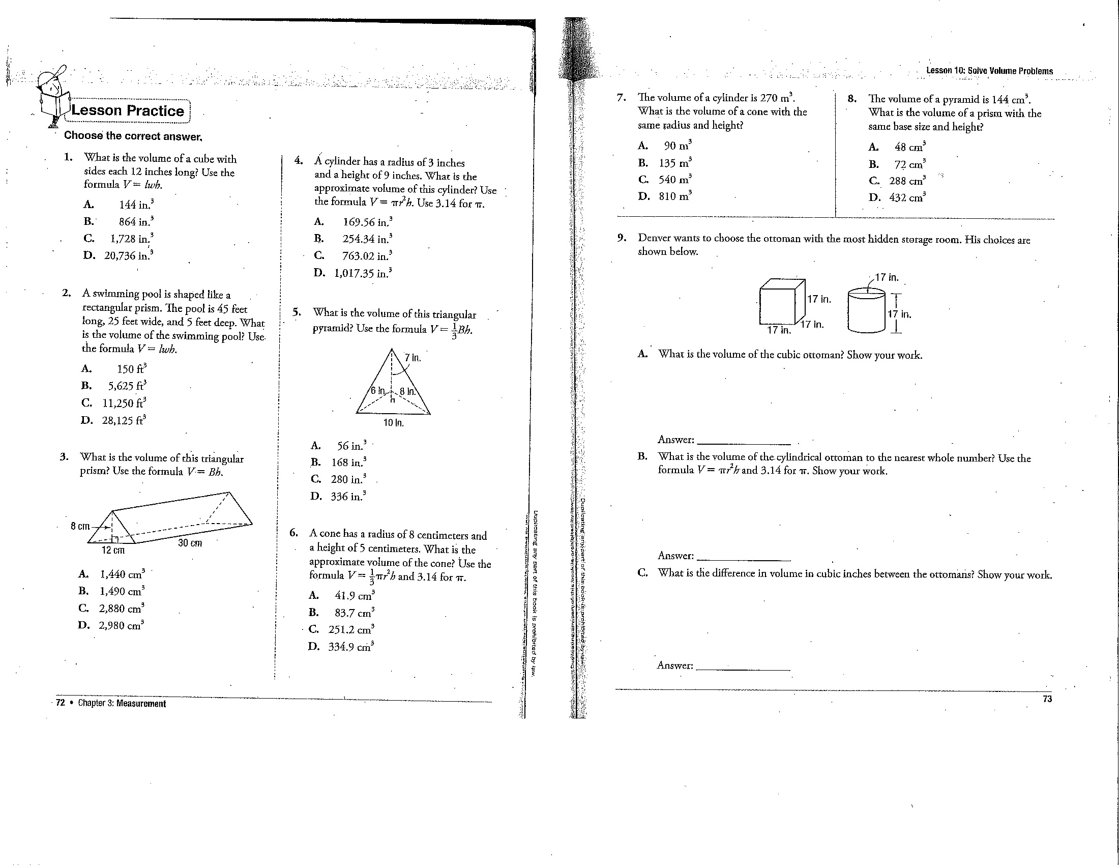 Dilation Scale Factor Worksheet