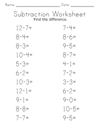 15 Best Images of Kindergarten Worksheets Addition And ...