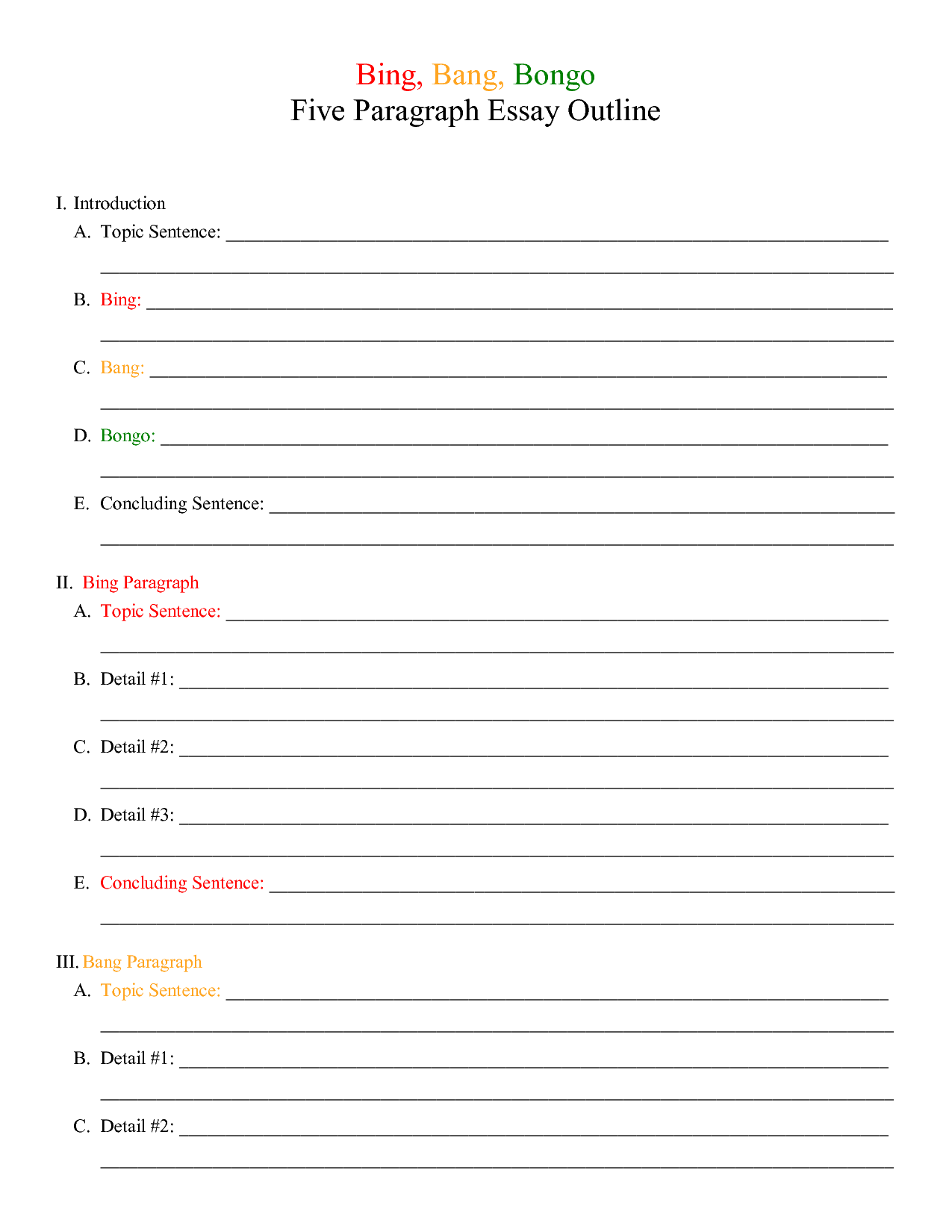 Compare And Contrast Worksheet Grade 5