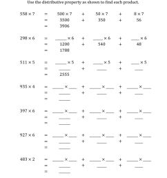 Distributive Property Worksheets 6th Grade   Printable Worksheets and  Activities for Teachers [ 1584 x 1224 Pixel ]