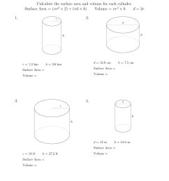 Math Aids Worksheets Answers Surface Area   Printable Worksheets and  Activities for Teachers [ 1584 x 1224 Pixel ]