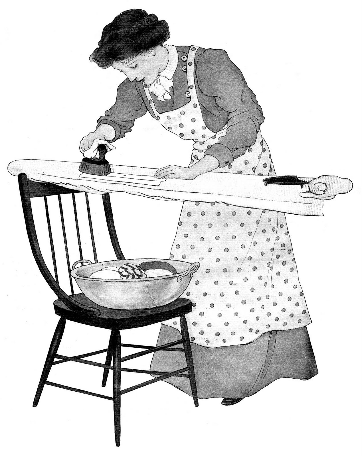 9 Best Images Of Ironing Clothes Worksheets