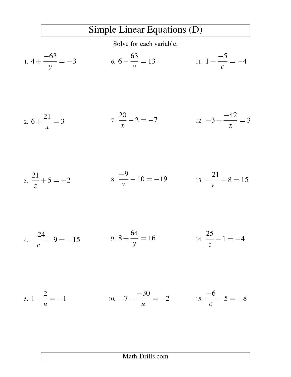 14 Best Images Of Algebra Worksheets Solving F X
