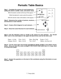 11 Best Images of Periodic Trends Worksheet With Answers ...