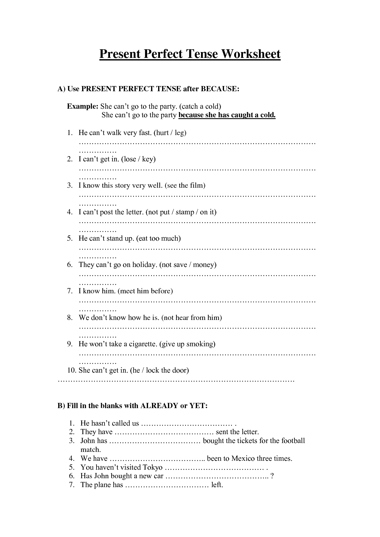 13 Best Images Of Present Continuous Tense Worksheet
