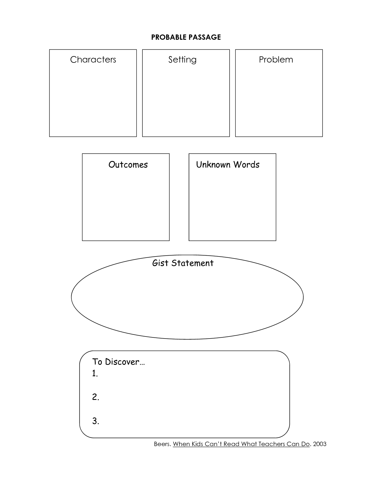 15 Best Images Of Kindergarten Worksheets Listening Comprehension