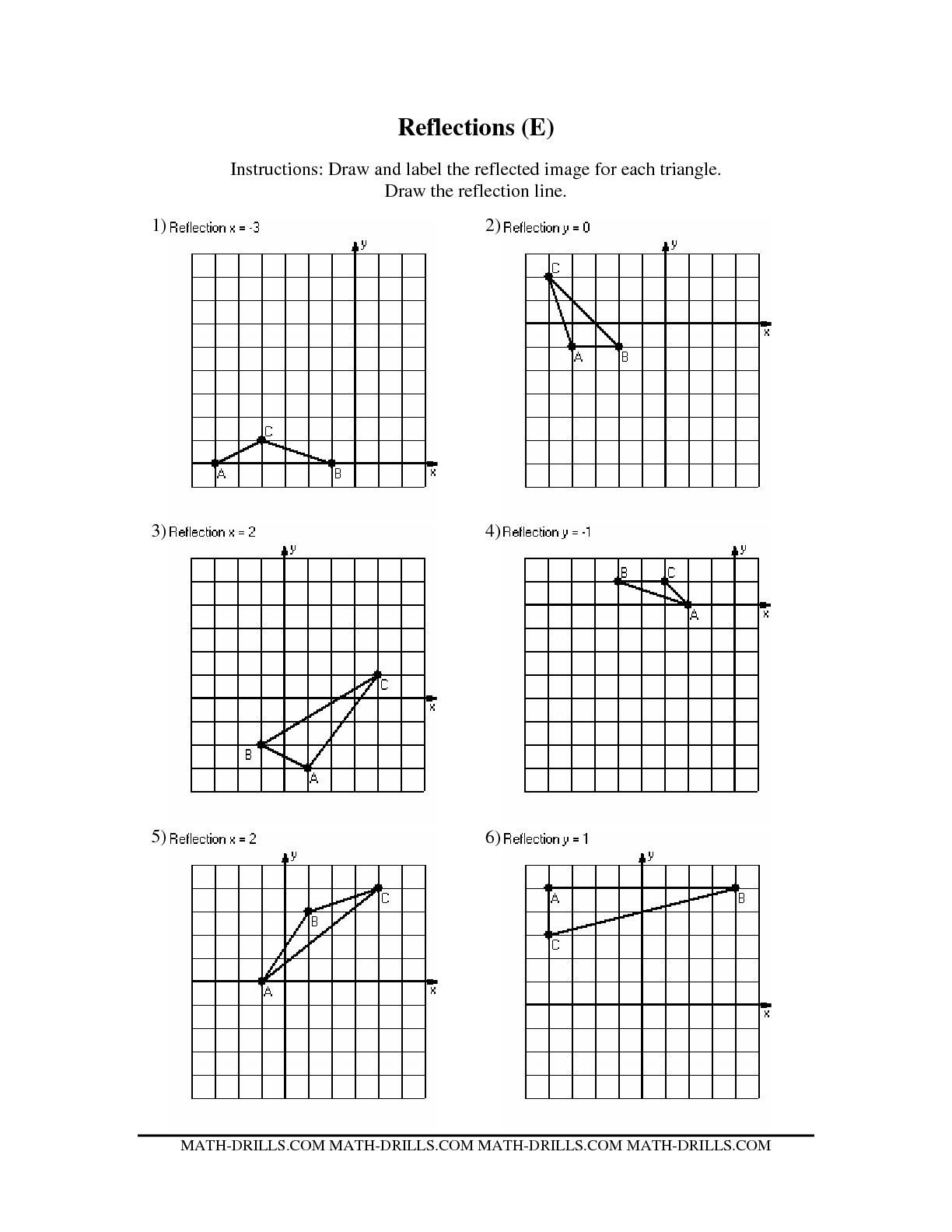 hight resolution of Symmetry Worksheets Geometry Printable   Printable Worksheets and  Activities for Teachers