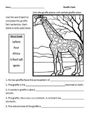 12 Best Images of Create Your Own Animal Worksheets