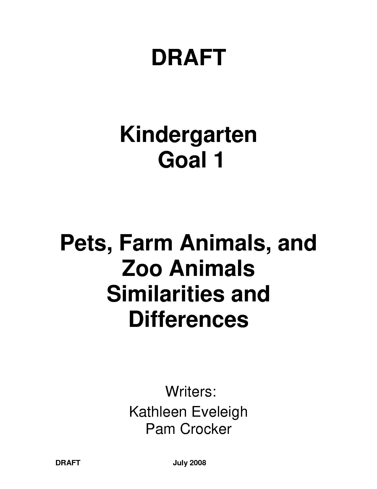 14 Best Images Of Kindergarten Worksheets Parts Of Book