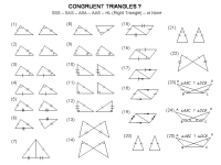 Congruent Triangles Worksheet 4th Grade - triangles ...