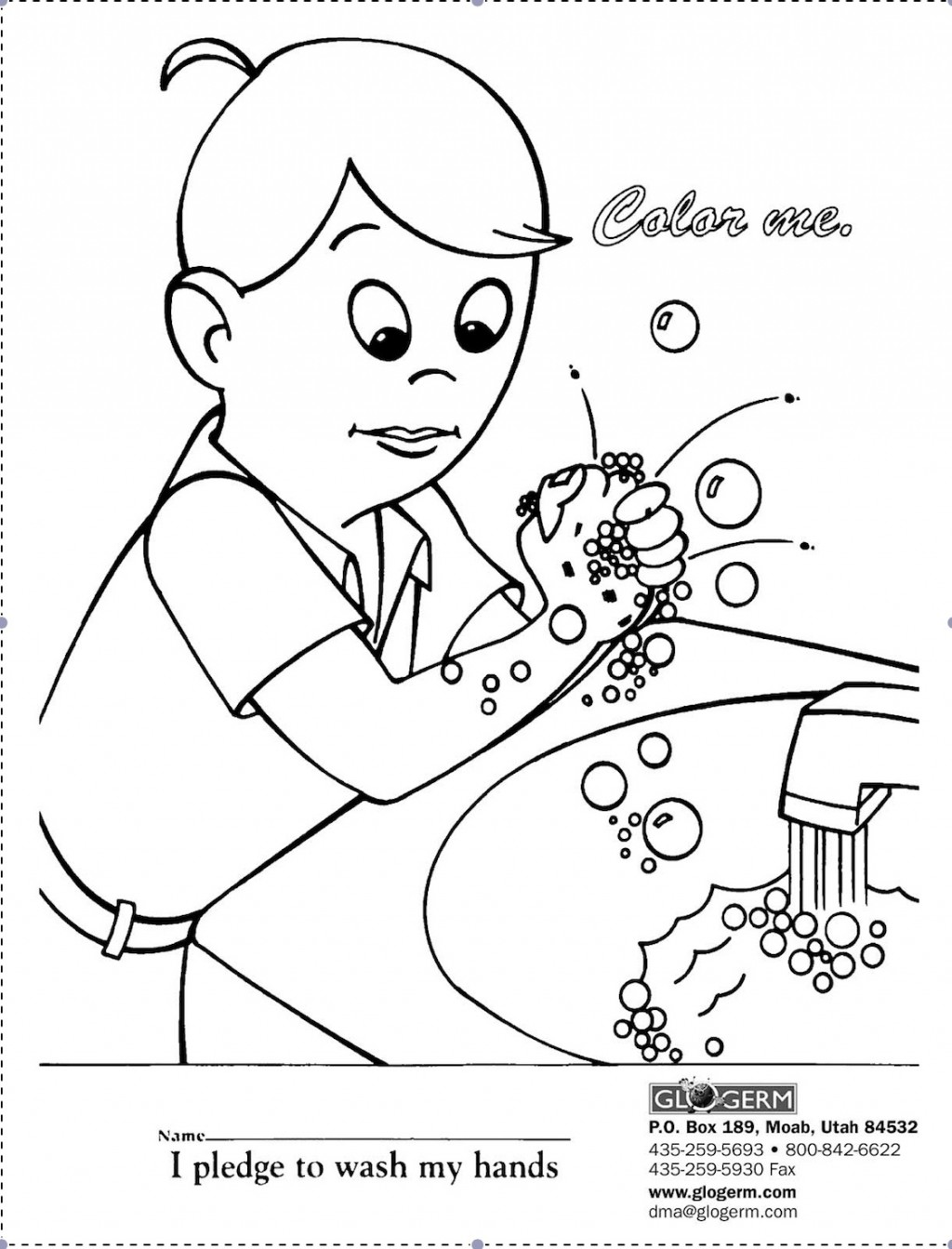 16 Best Images of Germ Worksheets Printable Kindergarten