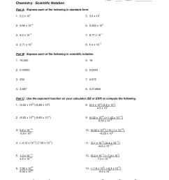 Scientific Notation Application Worksheet   Printable Worksheets and  Activities for Teachers [ 1650 x 1275 Pixel ]