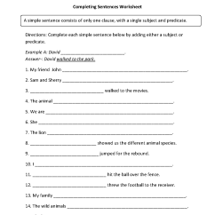 Diagramming Sentences Worksheets 5th Grade Rs 485 Wiring Diagram 20 Best Images Of Sentence Structure 7th