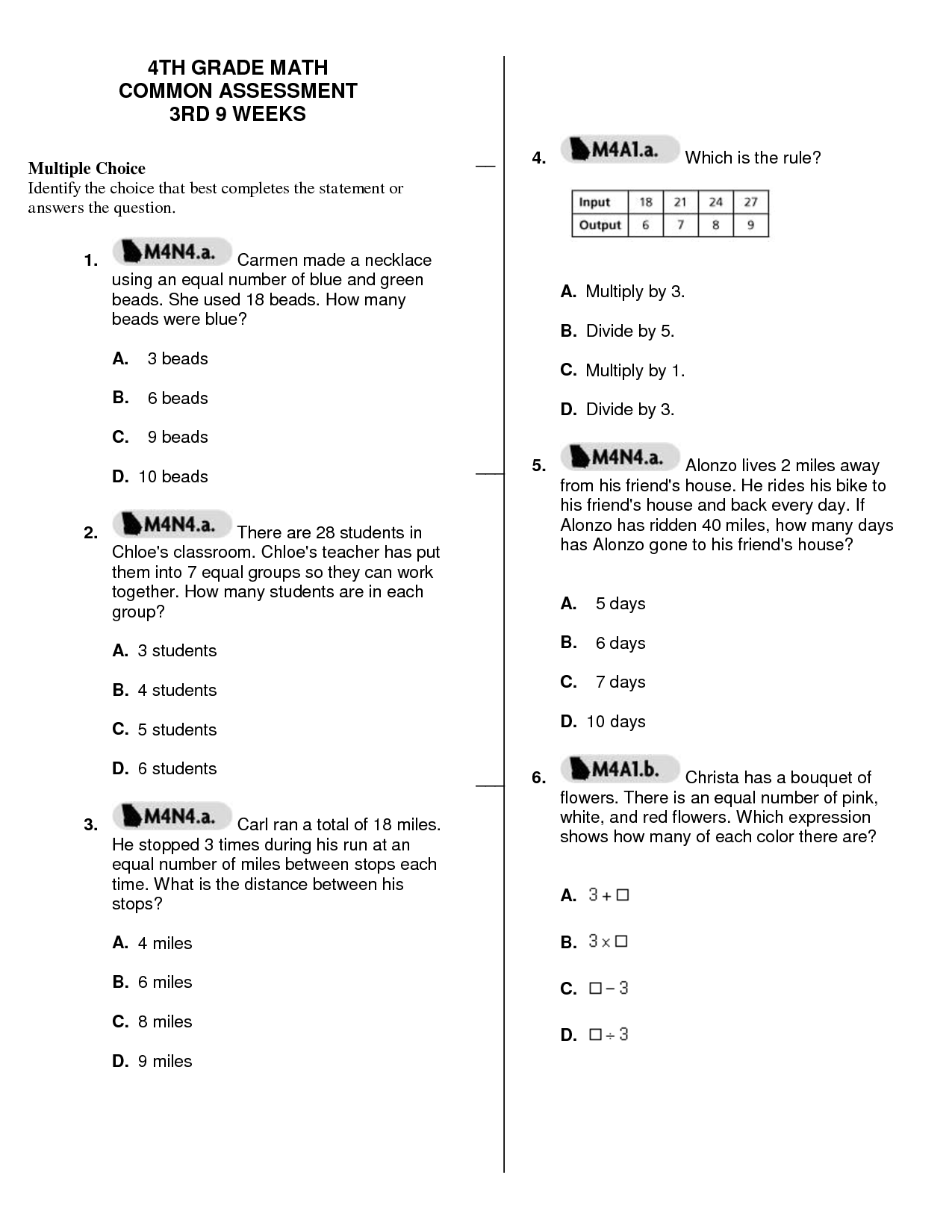 6 Best Images Of Combining Like Terms Worksheet