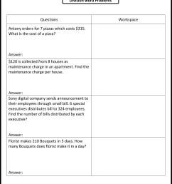 Perimeter Worksheet Key   Printable Worksheets and Activities for Teachers [ 3174 x 2350 Pixel ]