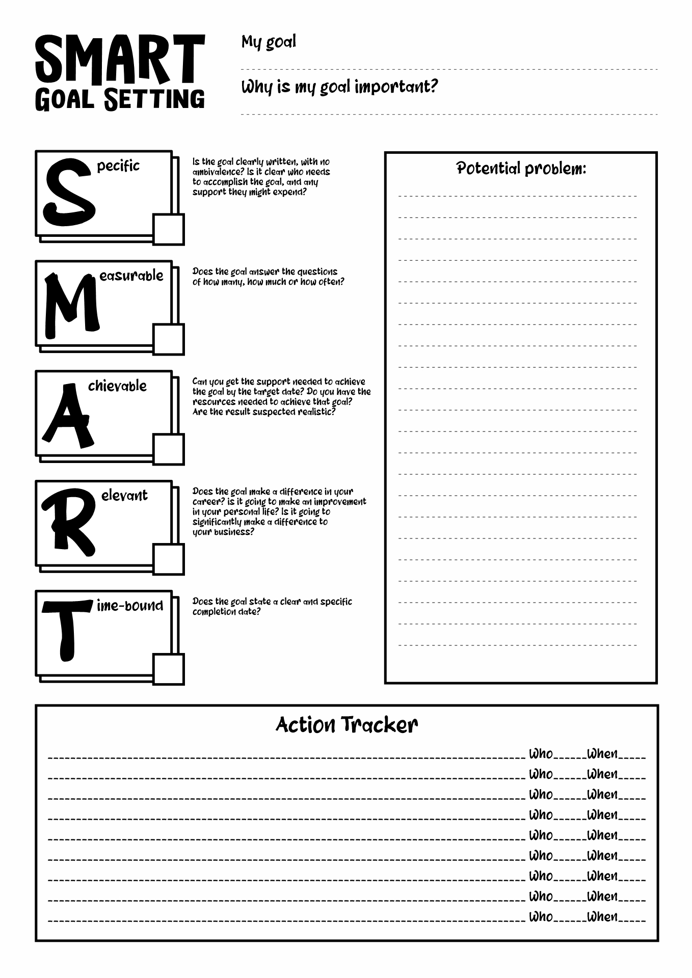 29 Goal Setting For Athletes Worksheet