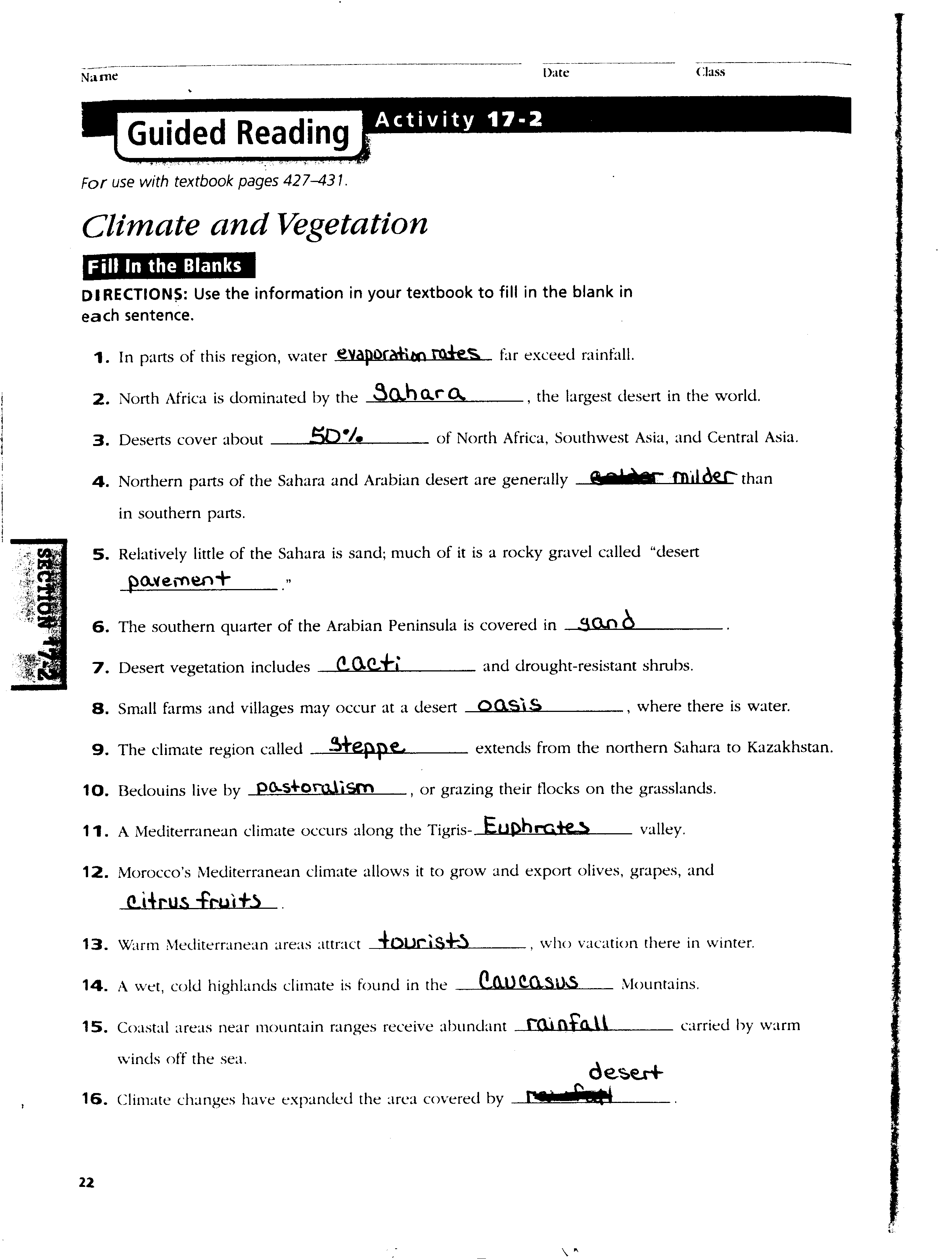 15 Best Images Of Us History Chapter 18 Worksheet