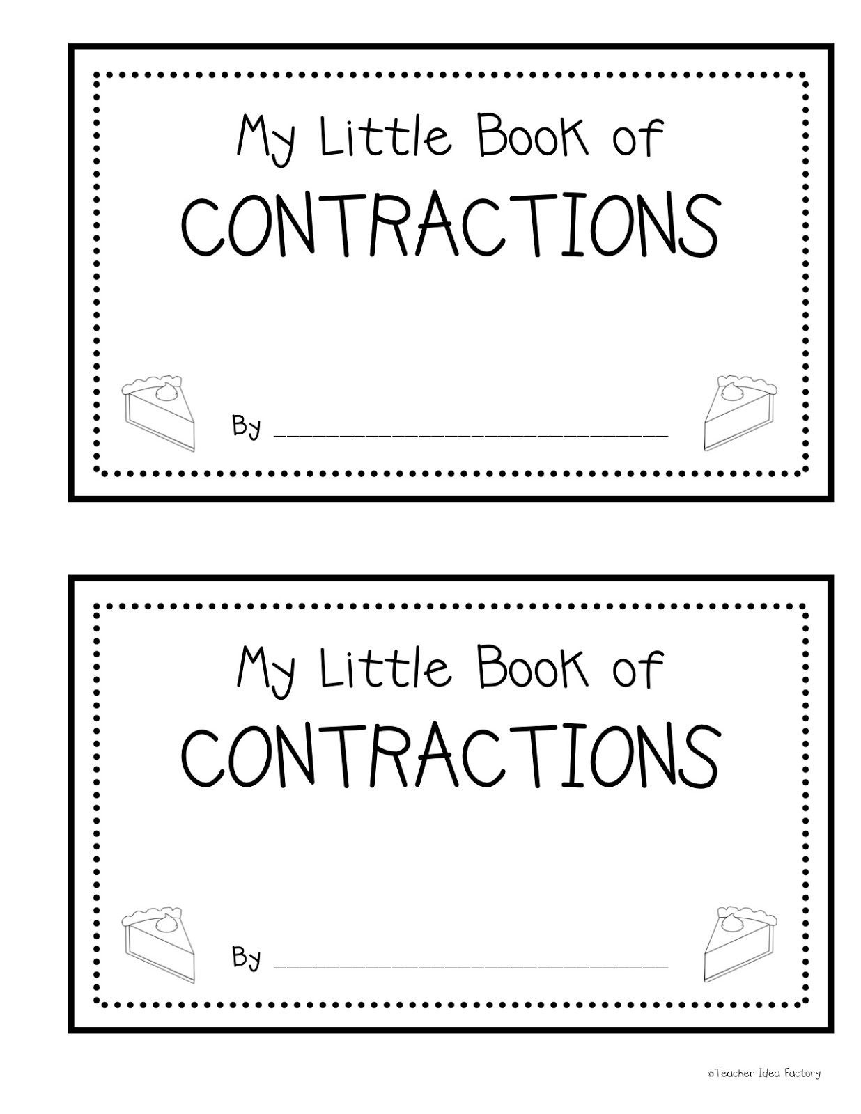 15 Best Images Of Worksheet About Contractions