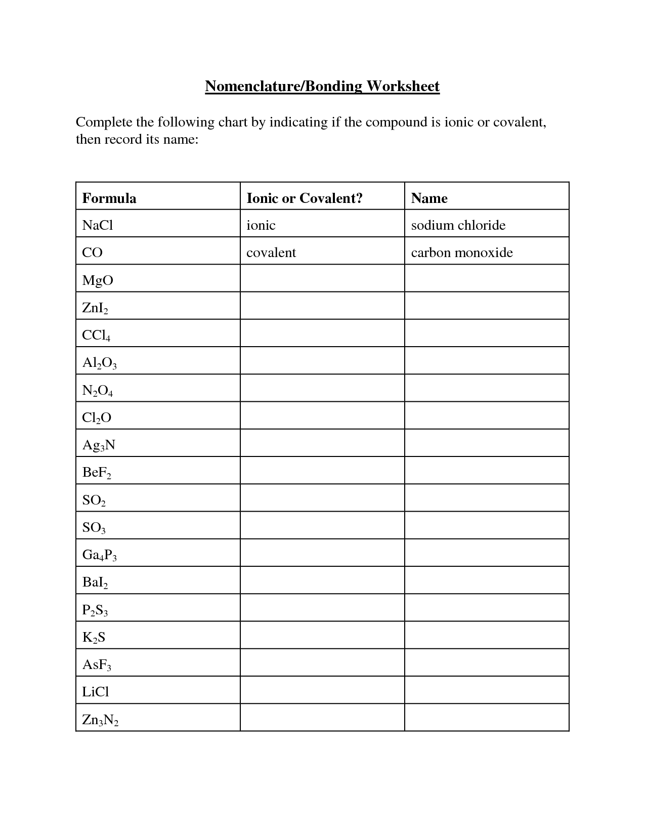 15 Best Images Of Carbon Compounds Worksheet